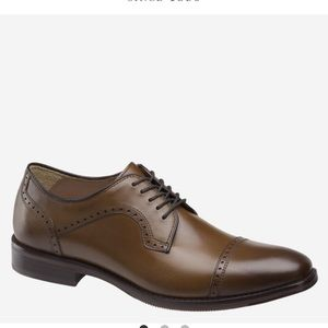 Johnston & Murphy REYNOLDS CAP TOE tan